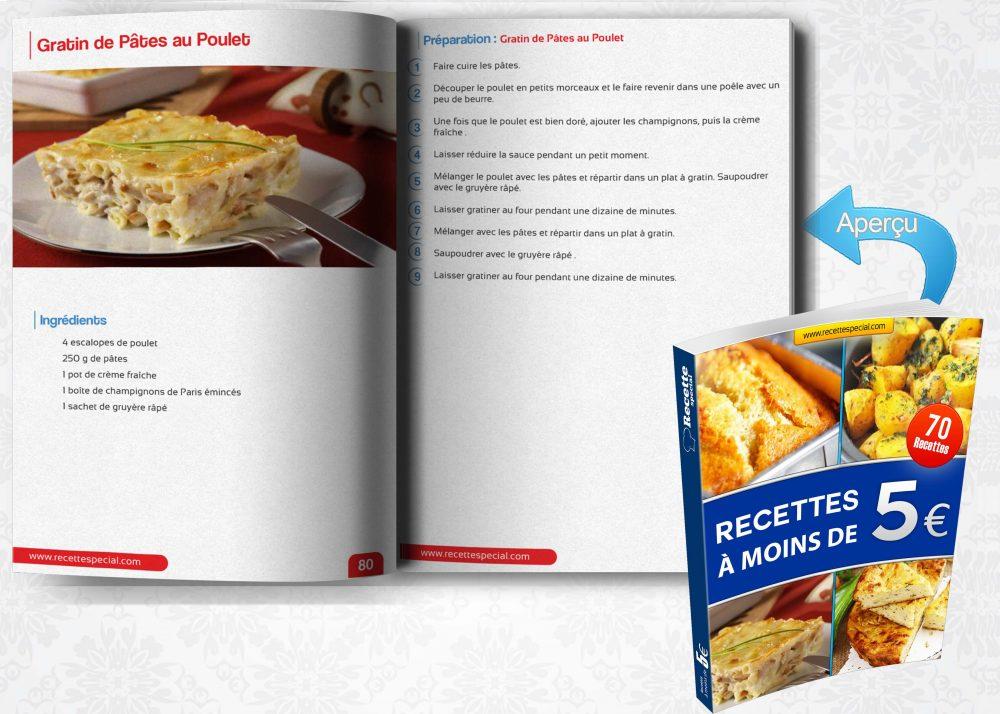 Livre 70 recettes moins de 5 recette special - Livre recette thermomix pas cher ...
