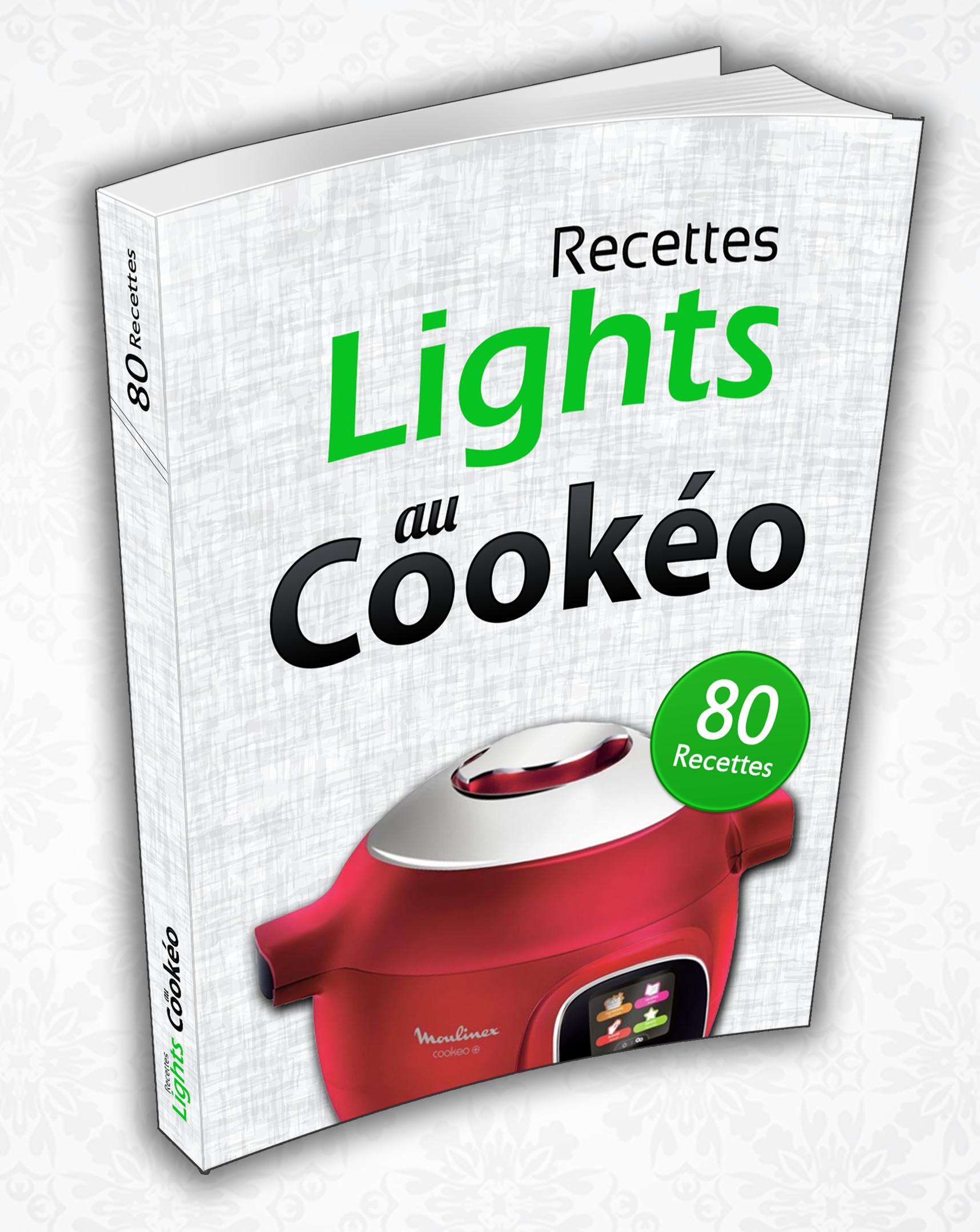 Livre 80 Recettes Lights Au Cookeo