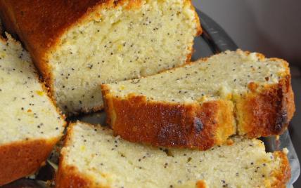 Délicieux cake au citron et aux graines de pavot