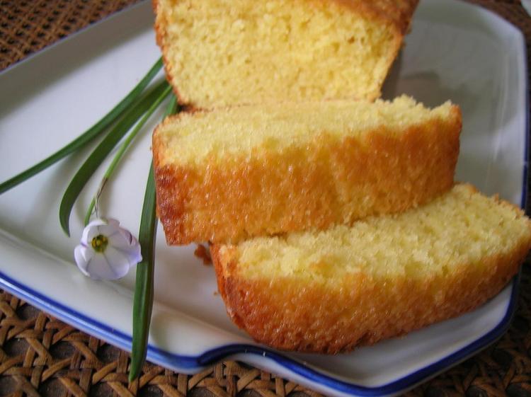 Cake Yaourt Citron Pavot