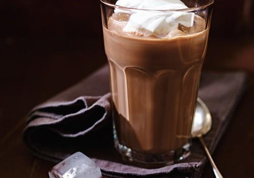 Café glacé au chocolat (Shokolad-Gliase)