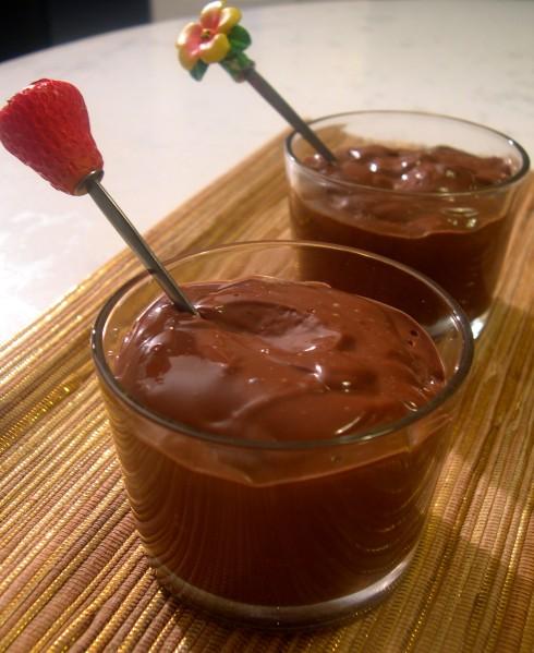 Crème dessert au chocolat facile