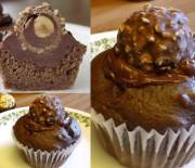 Ferrero Rocher Cupcakes