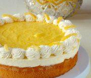 Gâteau à la mousse au citron
