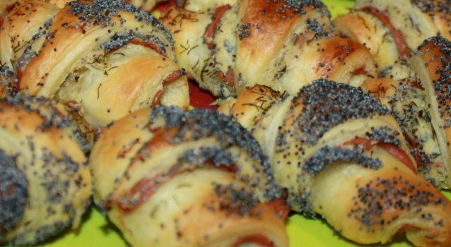 Croissants salés & fourrés