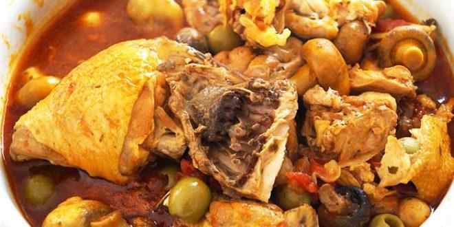 Poulet marengo recette authentique recette special - Poulet marengo recette ...